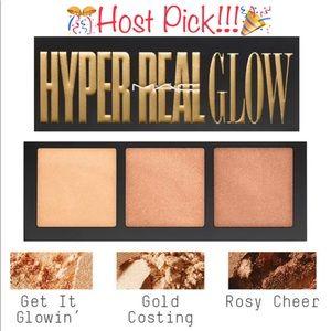"""🆕 M∙A∙C Hyper Real Flow Palette """"Get it Glowin"""""""
